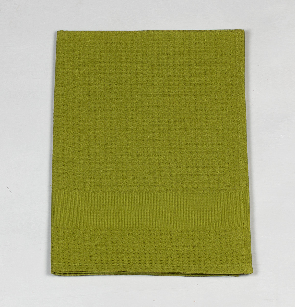 Honeycomb Cotton Kitchen Towel Moss Green U2013 Thoppia