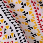 mosaic-print-cotton-bedsheet-yellow-buy-online