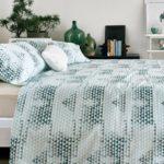 Star Triangle Bedsheet – Green