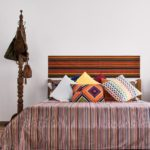 Woven Stripes Bedsheet – Red