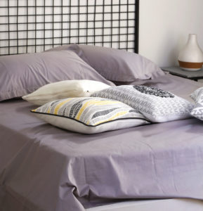 Grey Cotton Bedsheet