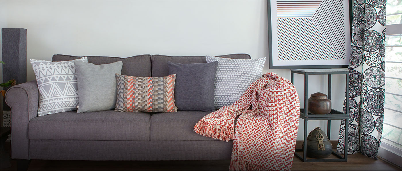Buy Cotton Cushion Covers and Rugs online