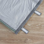 Cotton Travel bed- Stripe Green