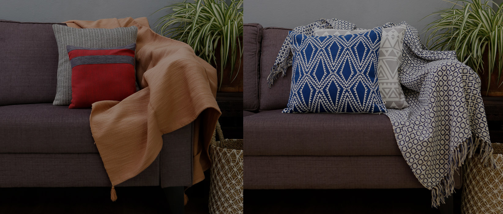 Warm and Cozy Handwoven throws