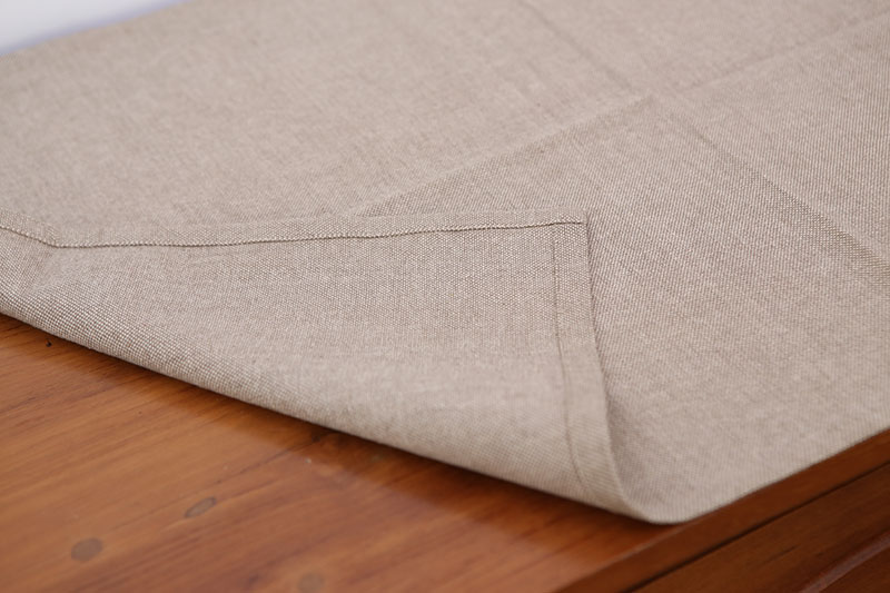 Stitched Cloth as Table Cloth