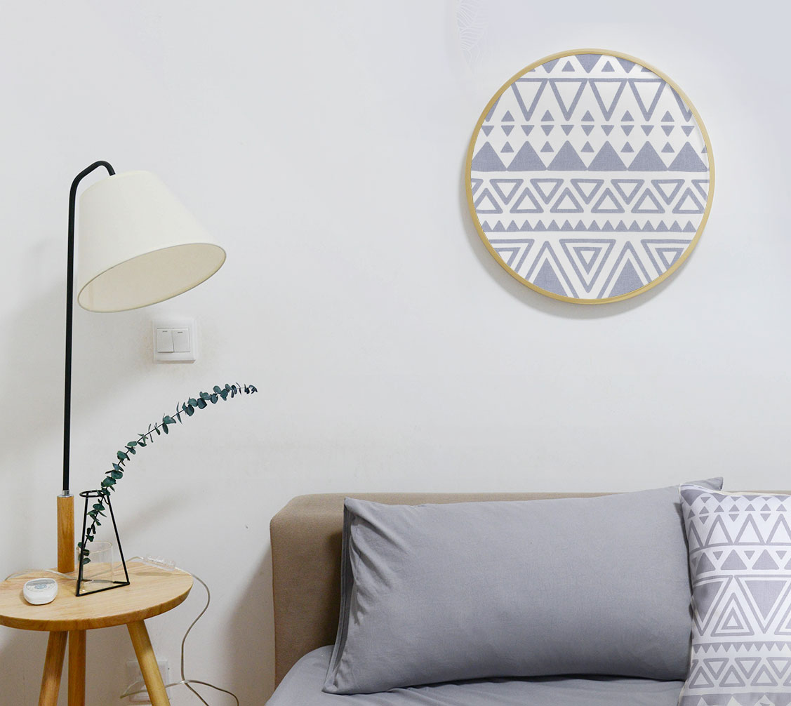 Stitched Cloth for Wall Decoration